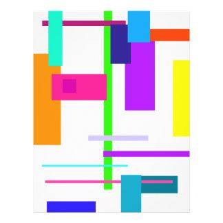 Simplistic Colorful Design Flyer Design