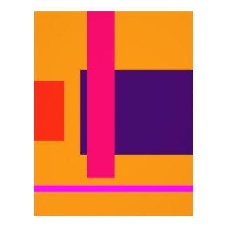 Simplistic Decisive Design Amber 21.5 Cm X 28 Cm Flyer