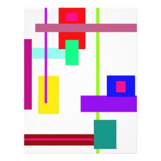 Simplistic Minimal Art Design Flyer Design