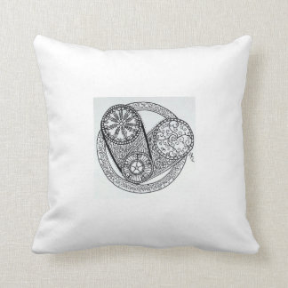 Simply_Because Heart Throw Pillow