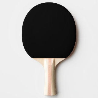 Simply Black Ping-Pong Paddle