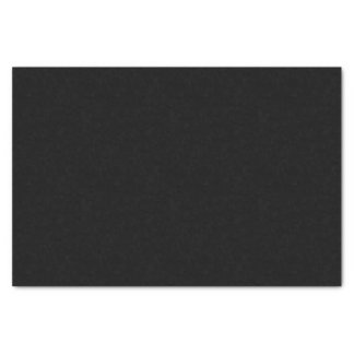 "Simply Black Solid Color 10"" X 15"" Tissue Paper"