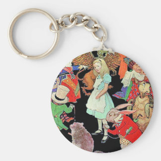 Simply, Madly Alice Key Ring