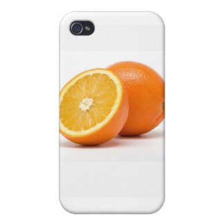 Simply Orange Fruit Cases For iPhone 4