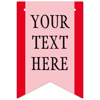 Simply RAINBOW colors & your Text Bunting