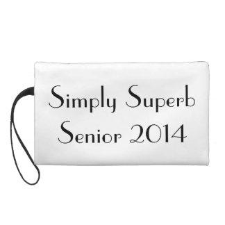 Simply Superb Senior 2014 Wristlet