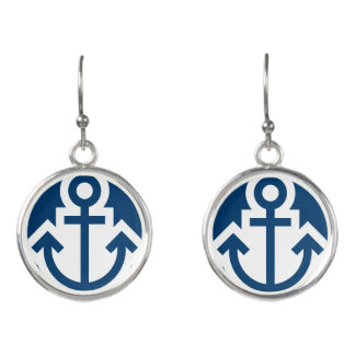 Simply Symbols / Icons - ANCHOR + ideas Earrings