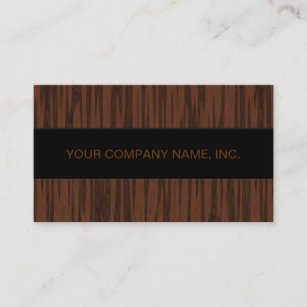 Walnut wood business cards zazzle nz simulated walnut business card reheart Image collections