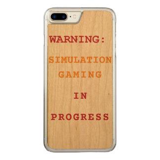 Simulation Gaming In Progress Carved iPhone 8 Plus/7 Plus Case