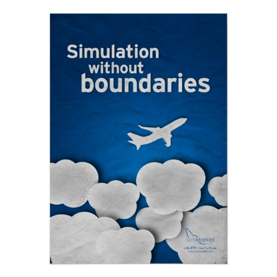Poster framing simulation
