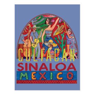 SINALOA Mexico Postcard