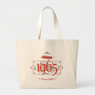 Since 1965 (Red&Black) Large Tote Bag