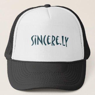 sincere.ly trucker hat