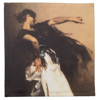 Singer Sargent Spanish Dancer Napkins