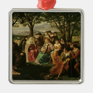 Singing Competition Christmas Ornament