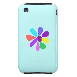 Single Flower iPhone 3 Tough Cases