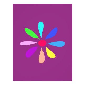 Single Flower Personalized Flyer