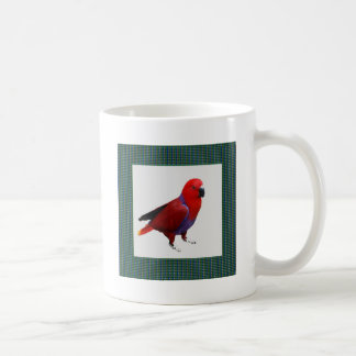 Single RED PARROT Tell a tale to KIDS Mugs