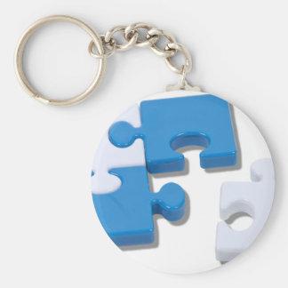 SingledPiecePuzzle101310 Key Ring