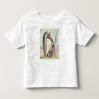 Sioux chief, 'The Black Rock' Toddler T-Shirt