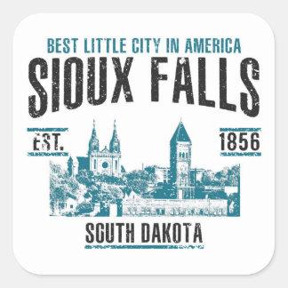Sioux Falls Square Sticker