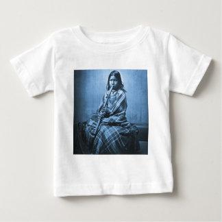 Sioux Musician Girl Cyan Baby T-Shirt