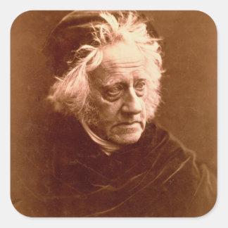 Sir John Frederick William Herschel (1792-1871) 18 Square Sticker