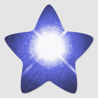 Sirius A and B bright night stars Star Sticker