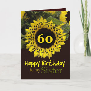 Sister 60th Birthday Gifts On Zazzle NZ