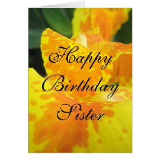 Sister Birthday Greetings Card