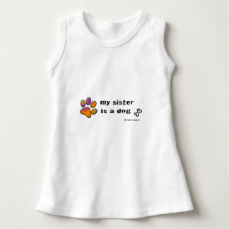 sister is a dog dress