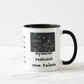 Sister's at heart mug