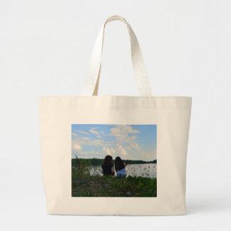 Sisters/Friends Large Tote Bag
