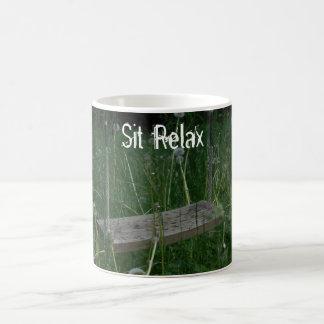 Sit Relax Coffee Mug