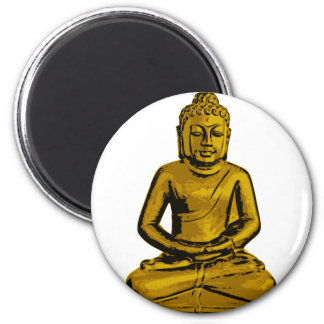 Sitting Buddha Magnets