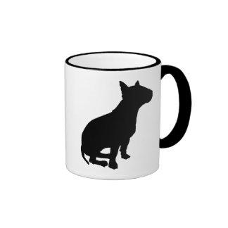 Sitting Bull Terrier Mug
