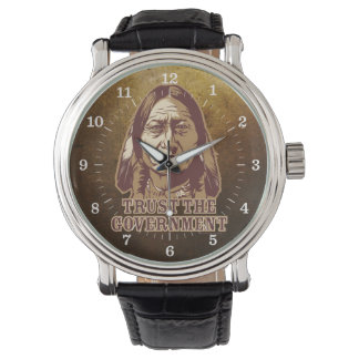 Sitting Bull Trust The Government Watch