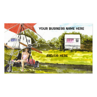 'Sitting Pretty' Business Card