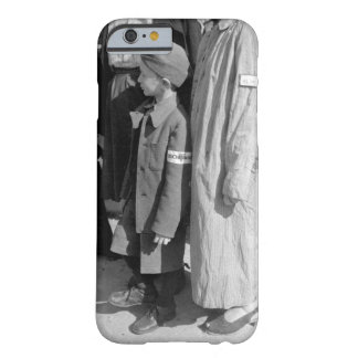Six-year-old war orphan with_War image Barely There iPhone 6 Case
