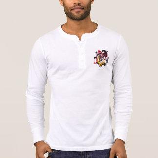 Sk8ter-Junk Men's Canvas Henley Long Sleeve Shirt