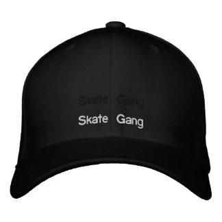 skate gang embroidered baseball caps