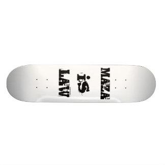 Skate like Maza did (in 1985) Custom Skate Board