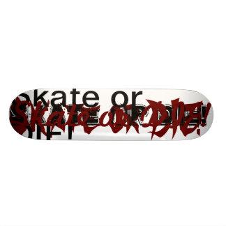 Skate or Die Champion Board Skate Board Deck