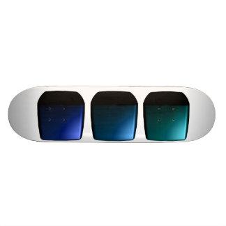 Skateboard 3d Boxes Futuristic Design