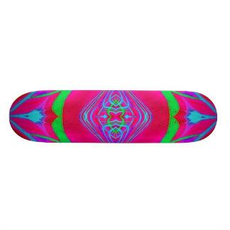 Skateboard Deck Design: Scan Weed.Quad.Red.165