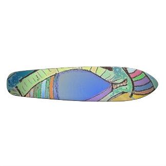Skateboard Eye Design