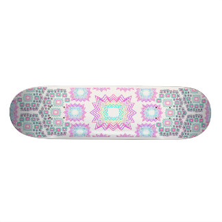Skateboard: Fractal Explosion: Design #1 Skate Deck
