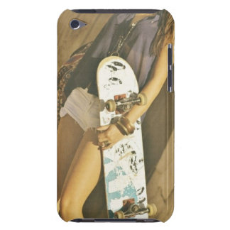 Skateboard girl IPod case iPod Touch Case