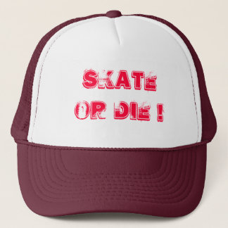 Skateboard gold Die cap