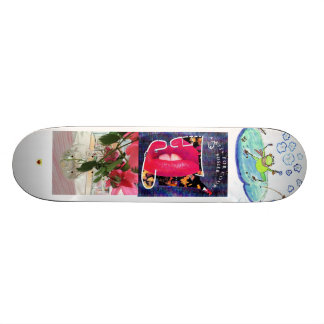 SKATEBOARD WITH COOL VARIED DESIGN